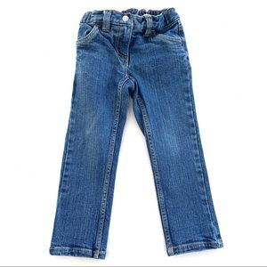 HANNA ANDERSSON girls denim jeans size 4 (100)